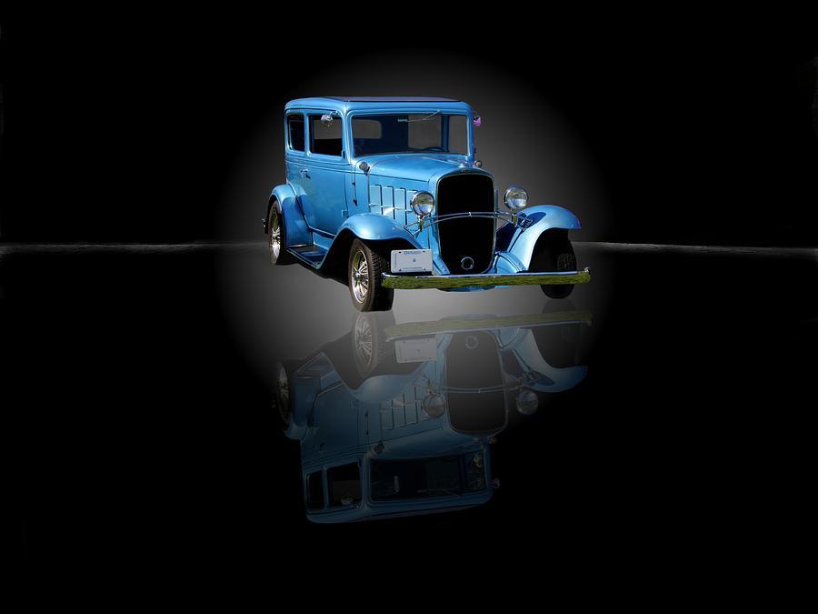 Car Photograph - 1932 Chevrolet Streetrod by Davandra Cribbie
