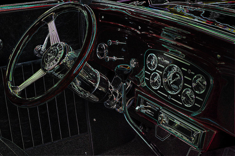 1932 Chevy Coupe Interior by Thom Zehrfeld