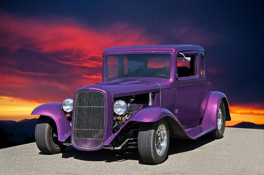 1932 Ford Coupe people Eater Photograph