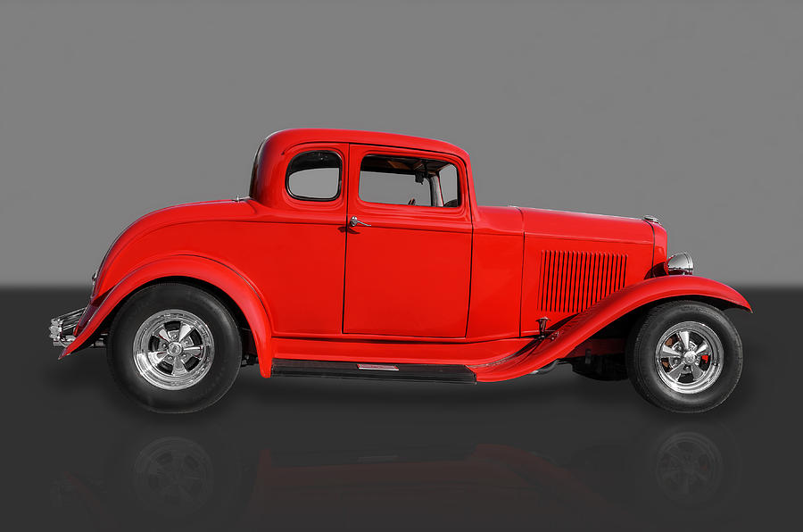 Hot Rods Photograph - 1932 Ford by Frank J Benz
