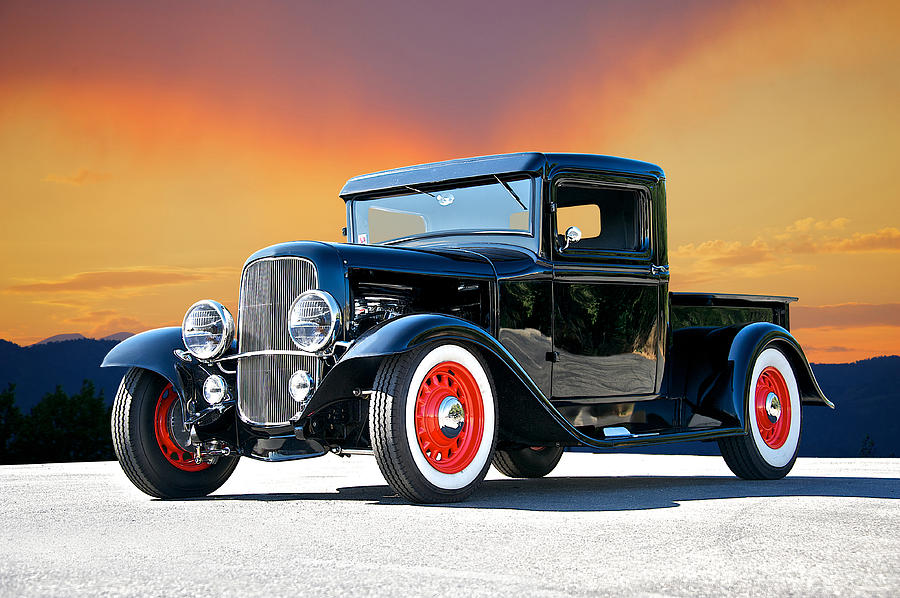 Coupe Photograph - 1932 Ford Pick Up II by Dave Koontz