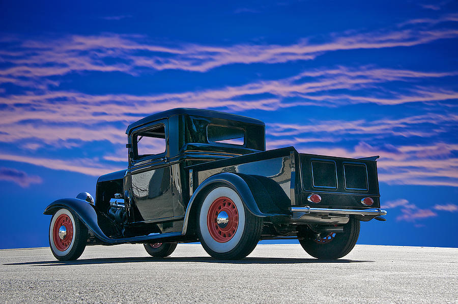 Coupe Photograph - 1932 Ford Pick Up V by Dave Koontz