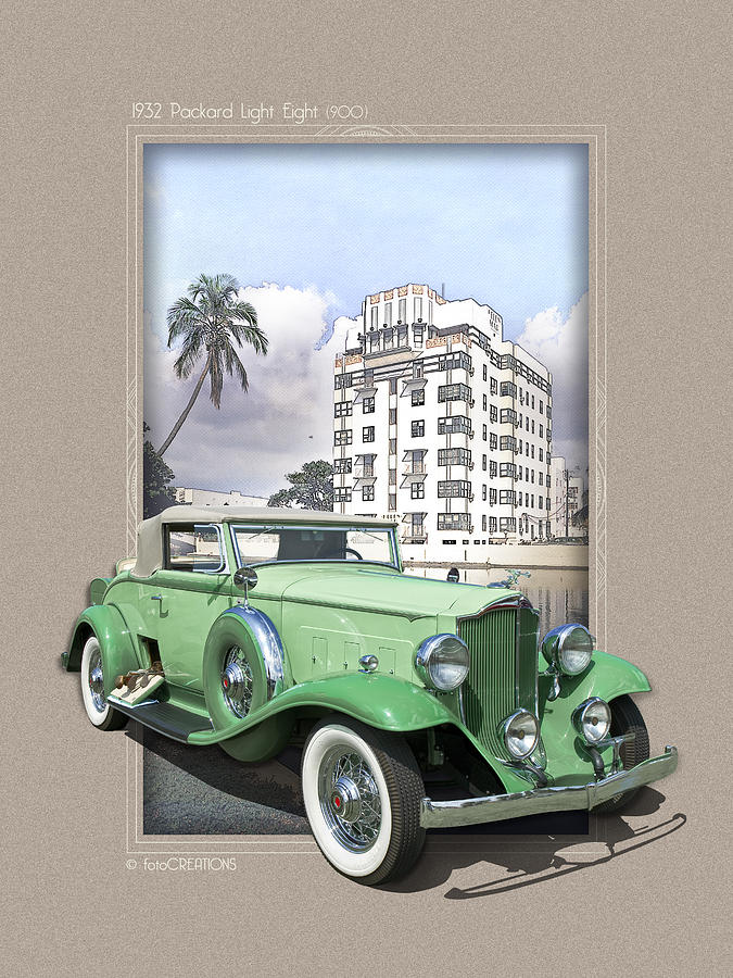 1932 Packard Light Eight by Roger Beltz