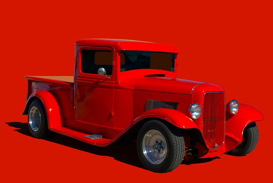1933 Ford Hot Rod Pickup Truck Photograph by Tim McCullough