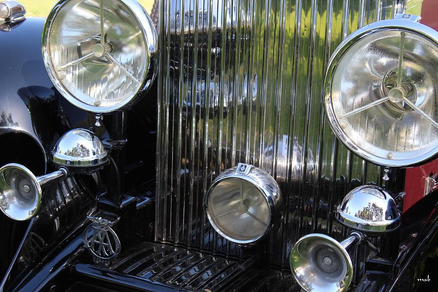 Auto Photograph - 1933 Rolls Royce Phantom II Front Assembly by Mark Steven Burhart