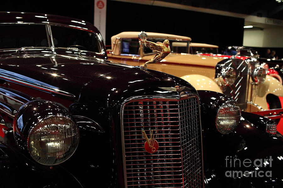 Transportation Photograph - 1934 Cadillac V16 Aero Coupe - 5d19877 by Wingsdomain Art and Photography