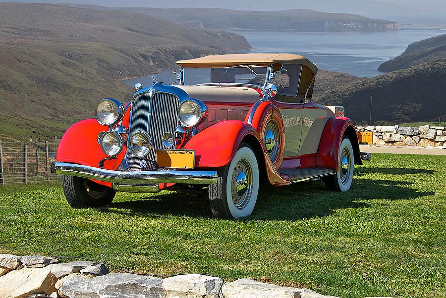 1934 Chrysler Ca Roadster Photograph By Dave Koontz