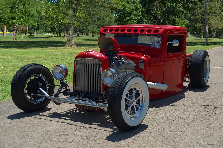 1934 Ford Pickup Truck Hot Rod Photograph by Tim McCullough