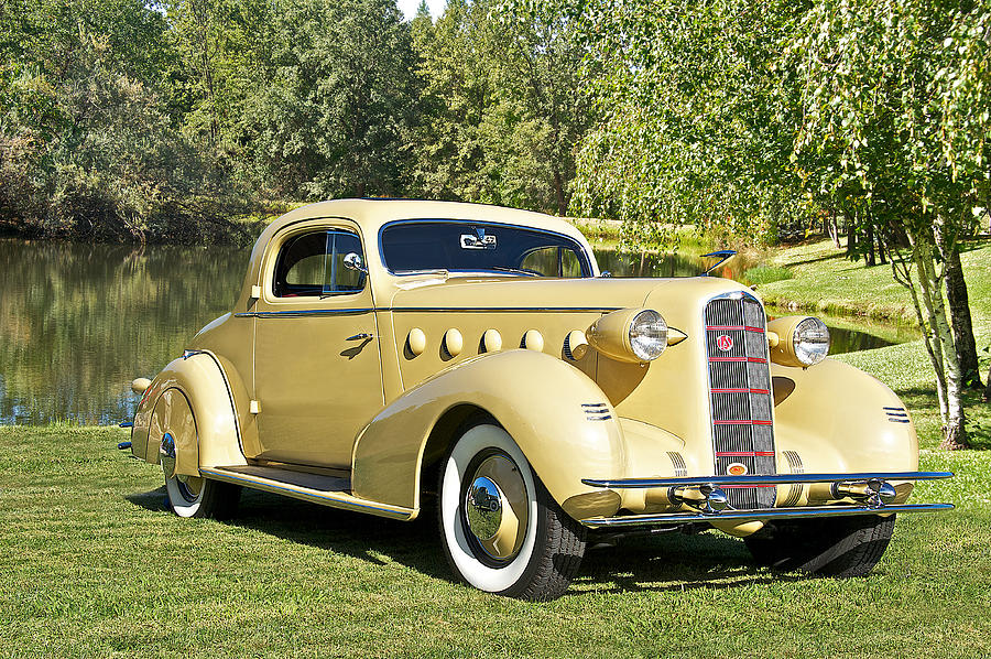 1934 Lasalle rumble Seat Coupe Photograph