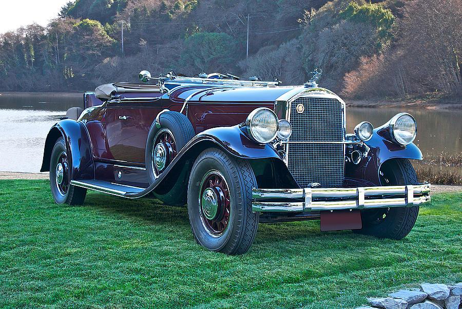 1934 Pierce Arrow B Roadster Photograph
