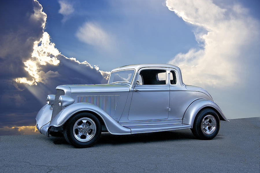 1934 Plymouth Coupe Photograph