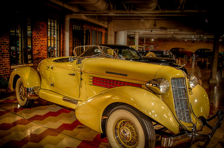 Classic Car Photograph - 1935 Auburn 851 Speedster Supercharged by Gene Sherrill