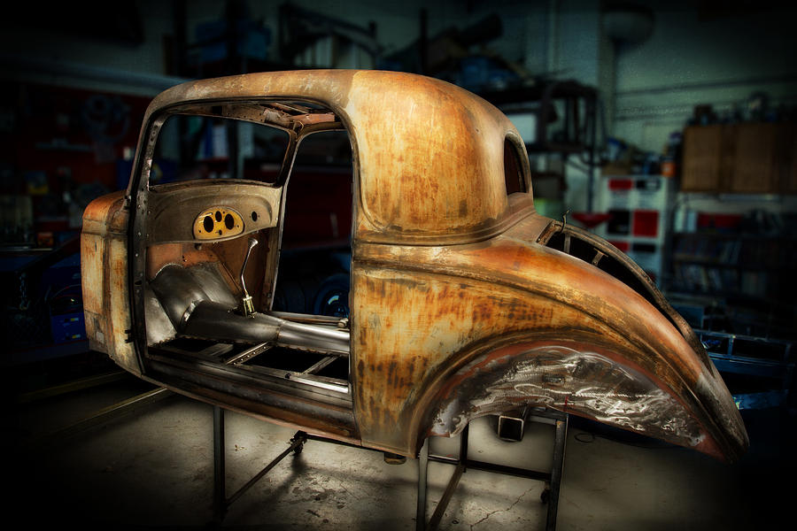 1935 Chevrolet Coupe Photograph by YoPedro