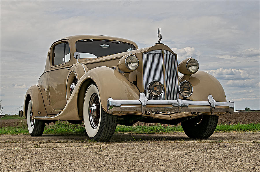 Classic Photograph - 1935 Packard Super 8 by Jerry Druhan