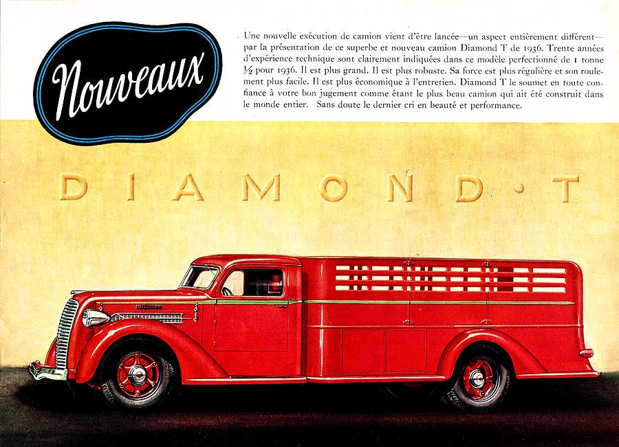 1936 Ad Diamond-t Trucks Lorries