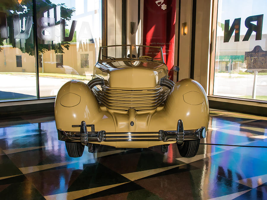 1936 Cord Convertible Coupe by James Howe