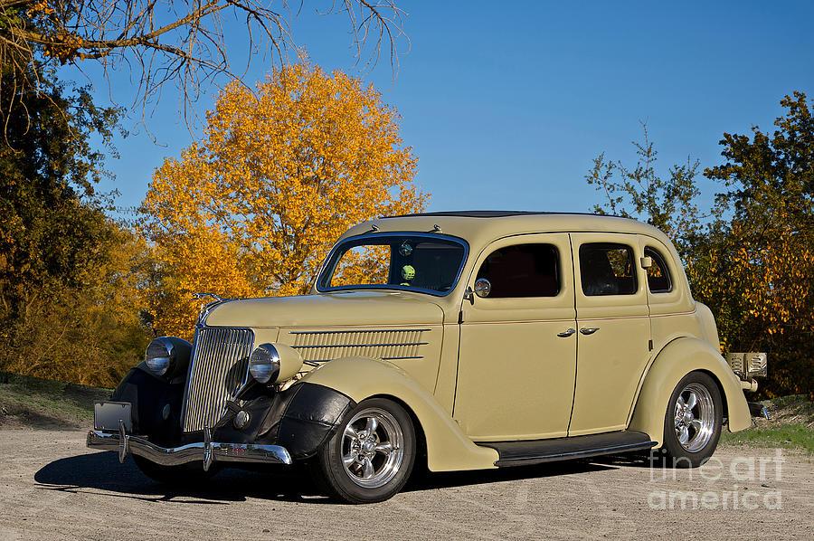 1936 Ford four Door Sedan Photograph