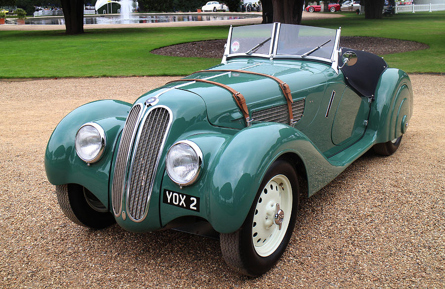 1937 BMW 328 Sports Photograph by Peter Lloyd