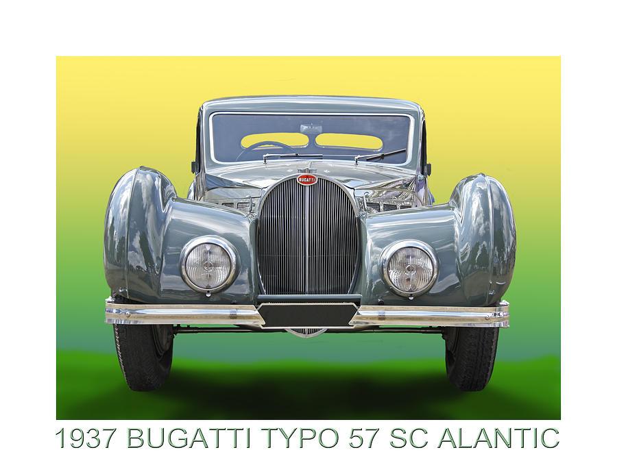 1937 Bugatti 57 S C Atalante Photograph by Jack Pumphrey