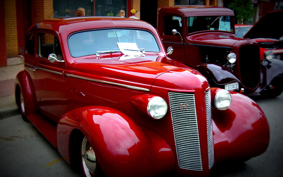 1937 Photograph - 1937 Buick 8 by Willy  Nelson