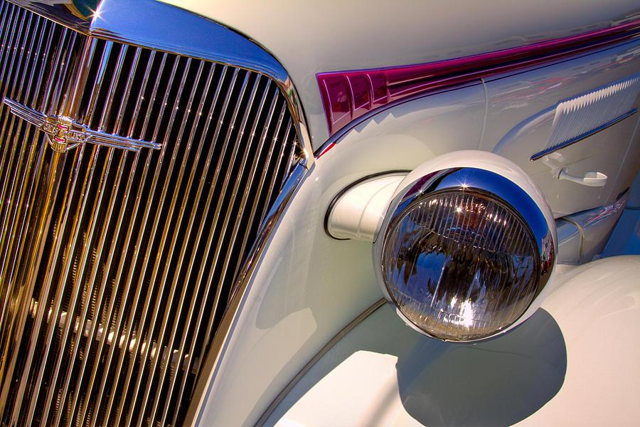 37 Photograph - 1937 Chevy 4 Door Sedan by David Patterson