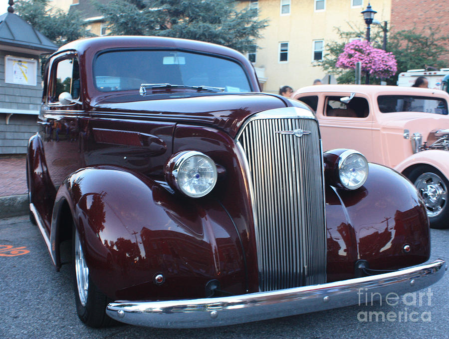 1937 Chevy Two Door Sedan Front And Side View Photograph By John Telfer