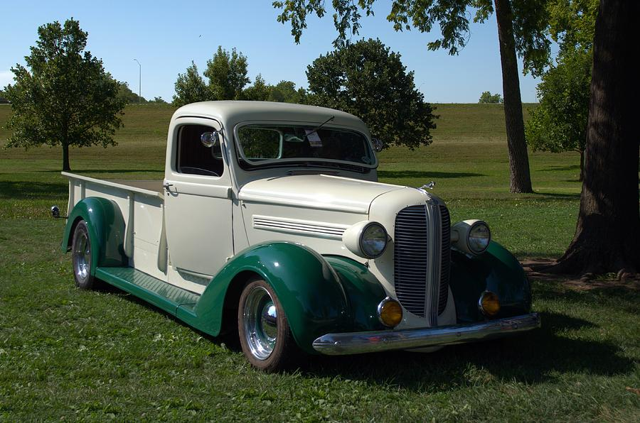 1937 Dodge Brothers Pickup Truck Hot Rod Photograph by TeeMack