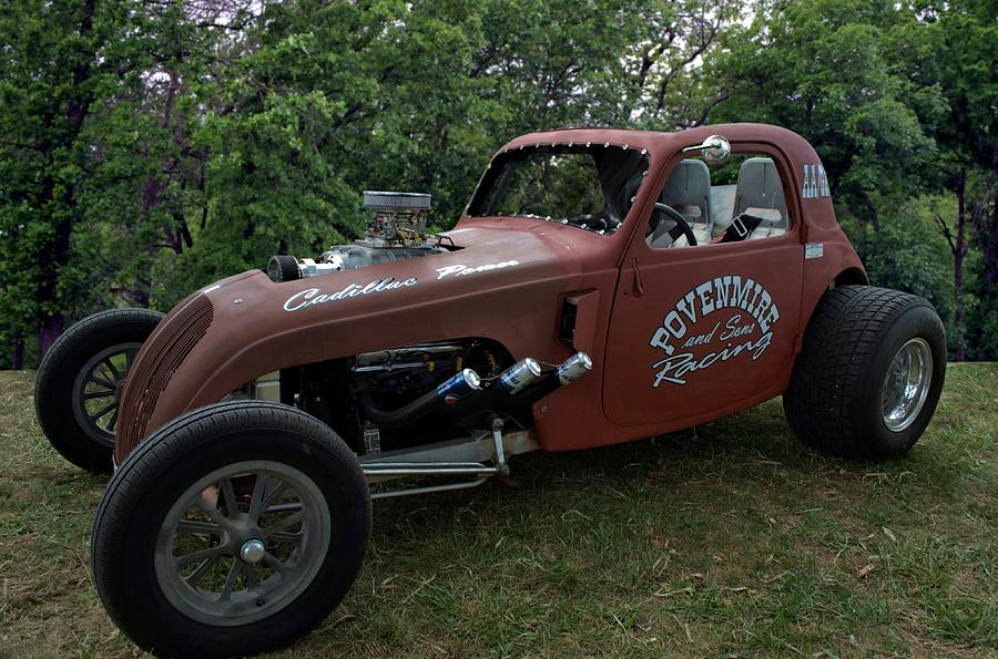 1937 Fiat Topolino Dragster Photograph By Tim Mccullough