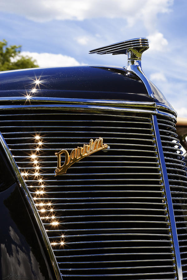 1937 Photograph - 1937 Ford Model 78 Cabriolet Convertible By Darrin by Gordon Dean II