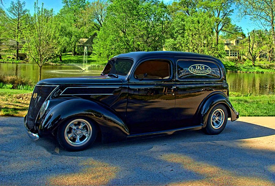 1937 Ford Photograph - 1937 Ford Sedan Delivery Truck by Tim McCullough & 1937 Ford Sedan Delivery Truck Photograph by Tim McCullough markmcfarlin.com