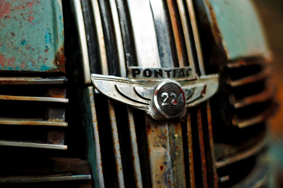 1937 Pontiac 224 Grill Emblem by Trever Miller