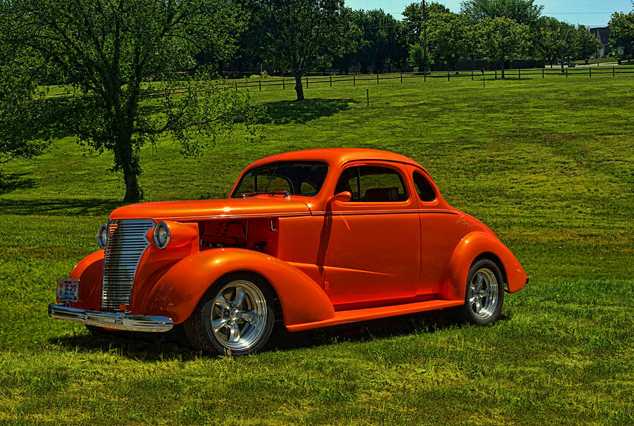 1938 Chevy Coupe For Sale >> 1938 Chevrolet Coupe Hot Rod Photograph by Tim McCullough