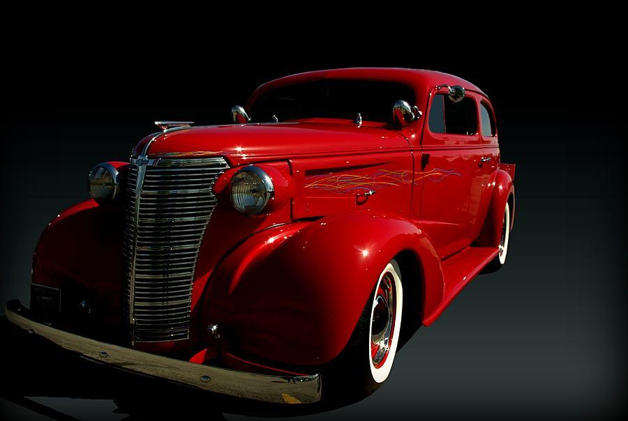 1938 Photograph - 1938 Chevrolet Sedan Hot Rod by Tim McCullough
