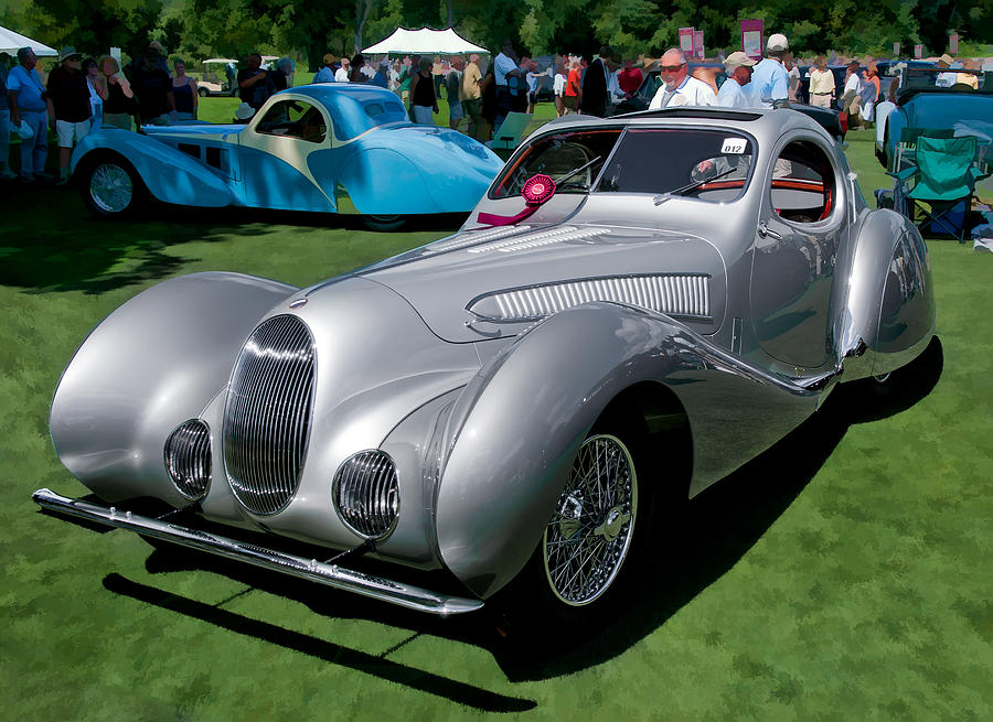 1938 Darracq/Talbot Lago T150C by James Howe