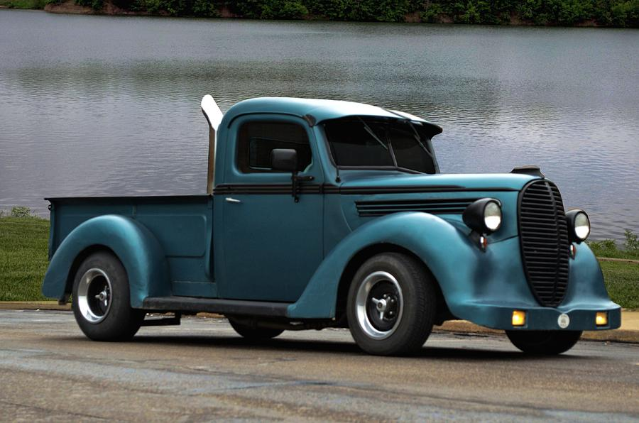 1938 Ford Pickup Truck Hot Rod Photograph by Tim McCullough
