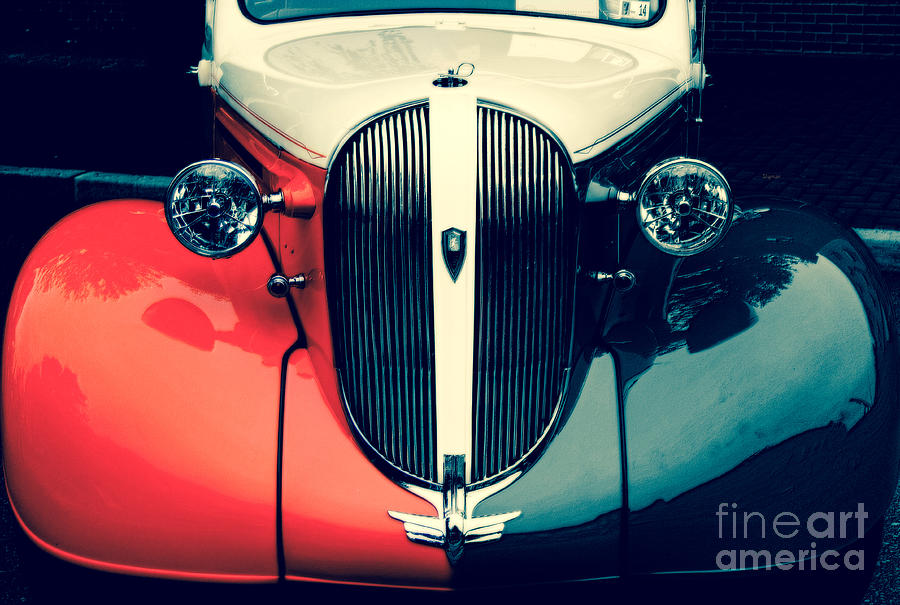 Car Photograph - 1938 Plymouth Deluxe  by Steven Digman