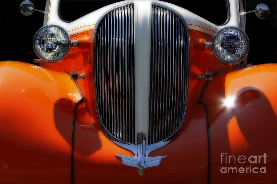 Cars Photograph - 1938 Plymouth  by Steven Digman