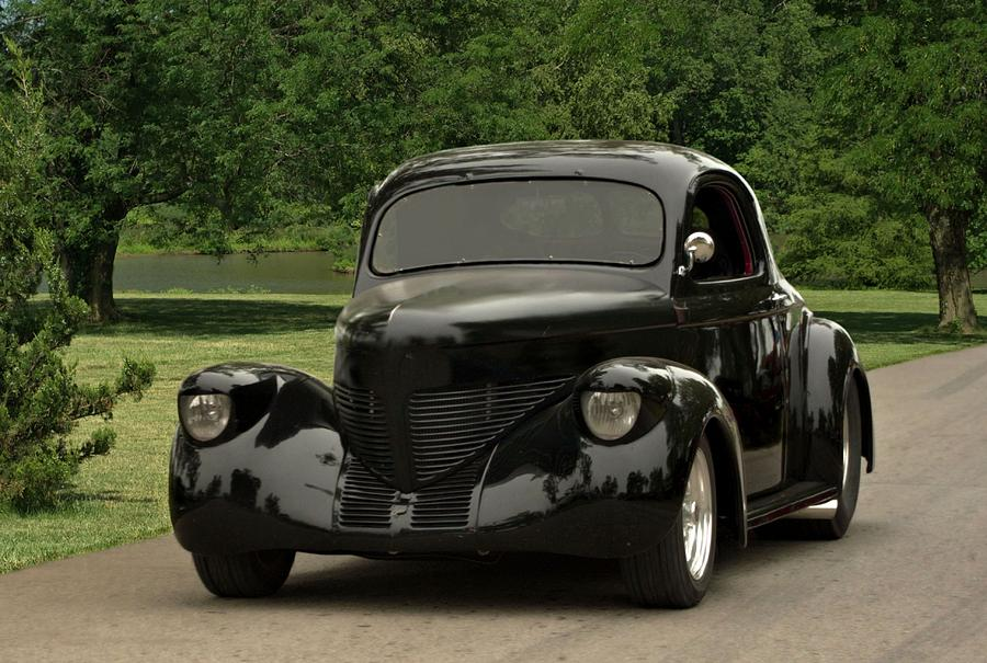 Willys Hot Rod >> 1938 Willys Coupe Photograph by Tim McCullough