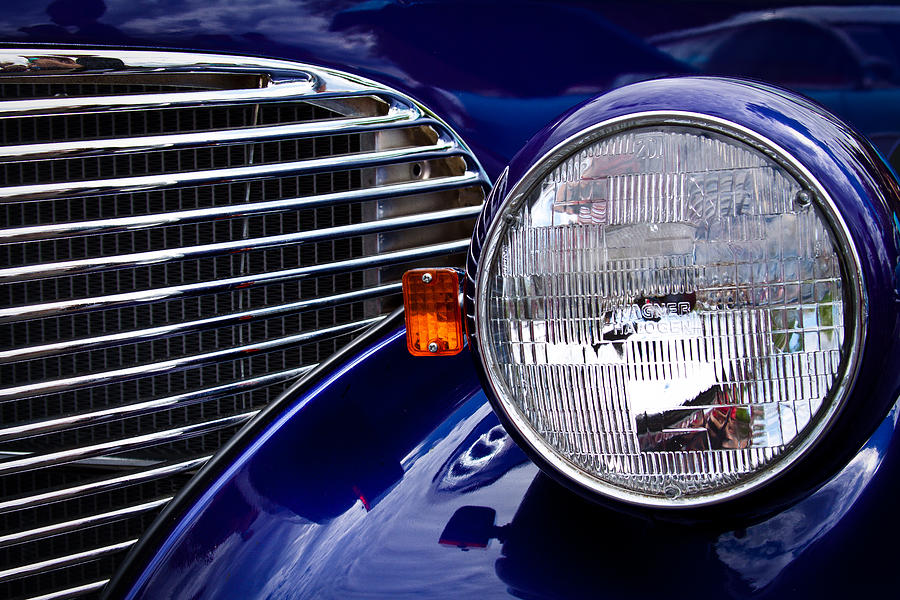 39 Photograph - 1939 Chevrolet Coupe by David Patterson
