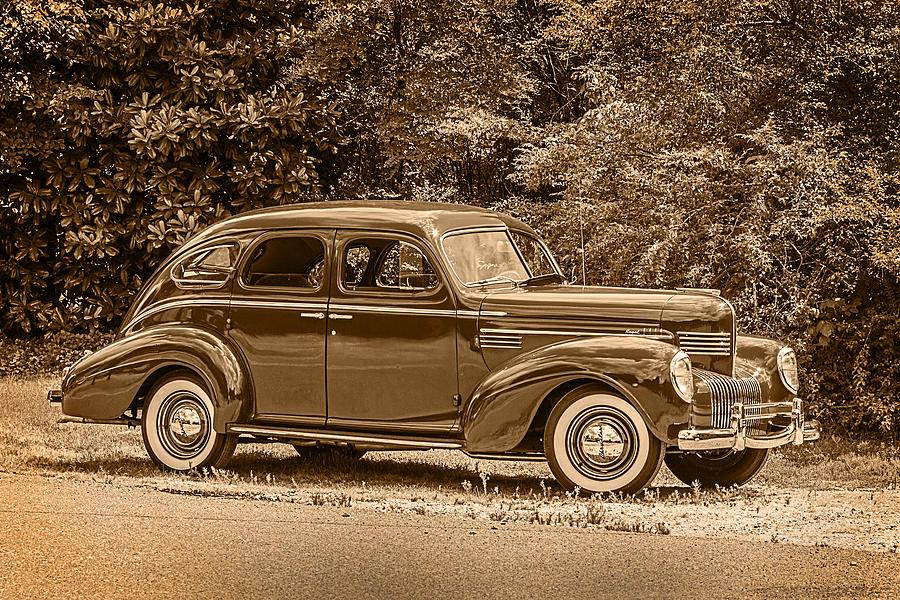 1939 Chrysler Royal Photograph - Classic - Car - 1939 Chrysler 4-dr Sedan by Barry Jones