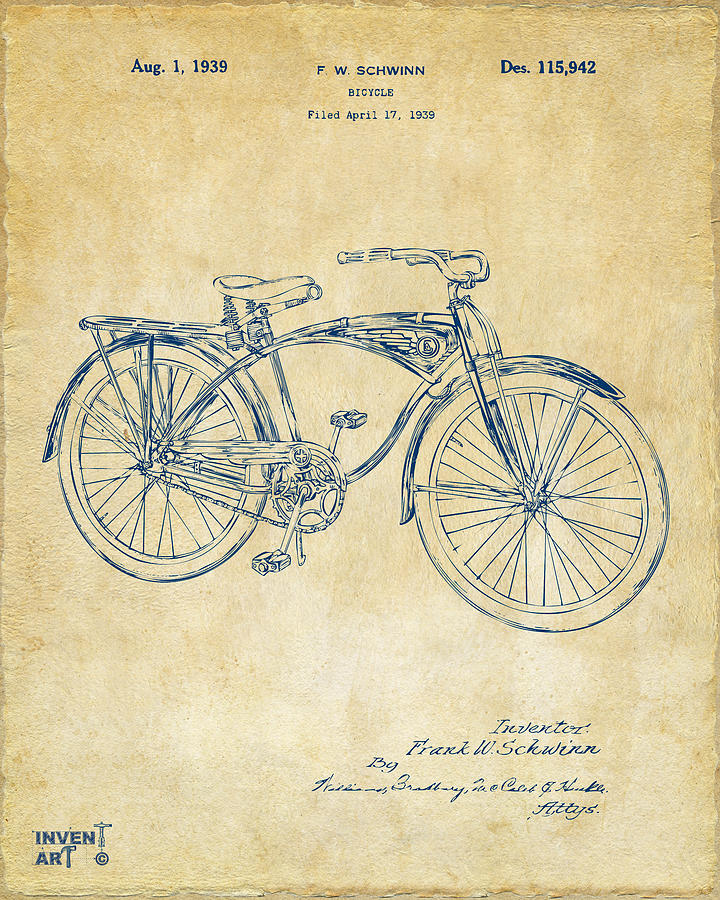 Bicycle Patent Art