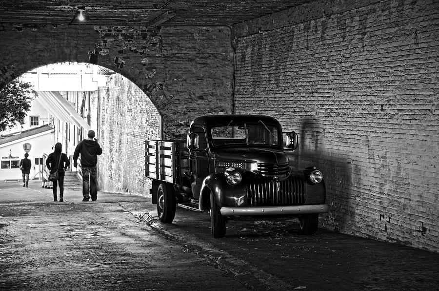 Chevrolet Photograph - 1940 Chevrolet Pickup Truck In Alcatraz Prison by RicardMN Photography