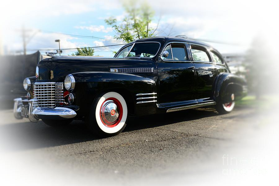 1941 Cadillac 4 Door Coupe Photograph - 1941 Cadillac Coupe by Paul Ward