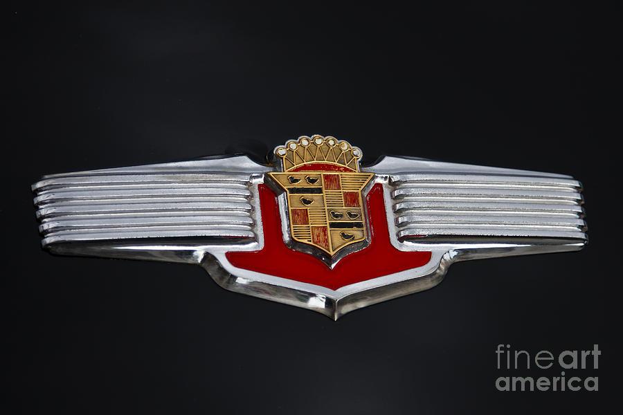 1941 Cadillac Emblem Photograph By Dennis Hedberg