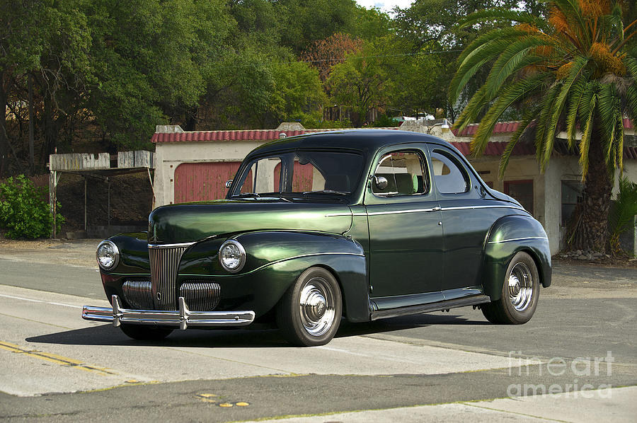 1941 Ford Coupe 2 Photograph By Dave Koontz