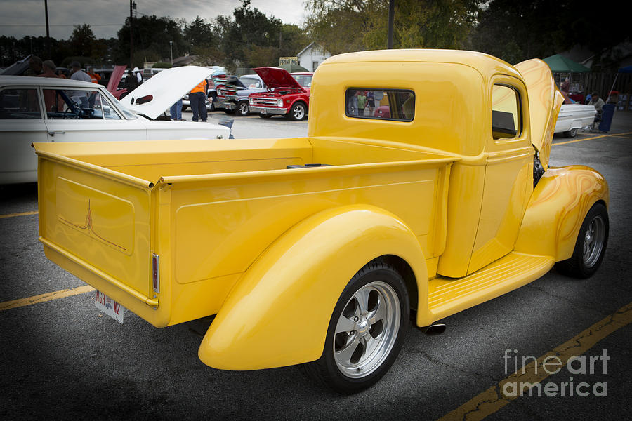 1941 Ford Pickup Truck Side View Classic Automobile In Color 30 ...