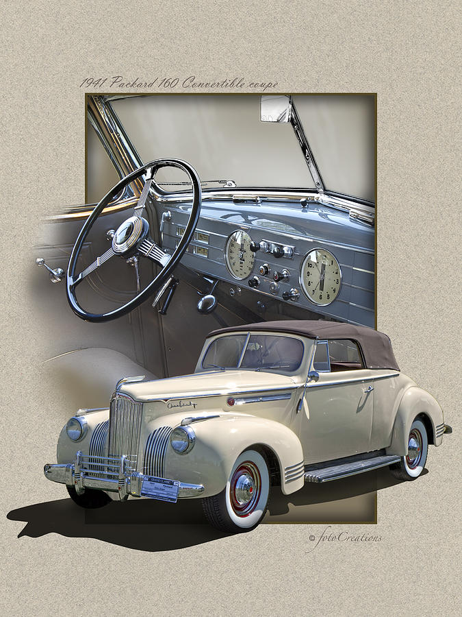 1941 Packard 160 Convertible-High Style by Roger Beltz