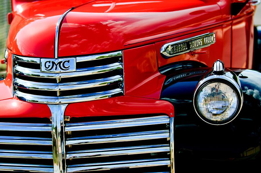 Gmc Truck Photograph - 1942 Gmc  Pickup Truck by Jill Reger