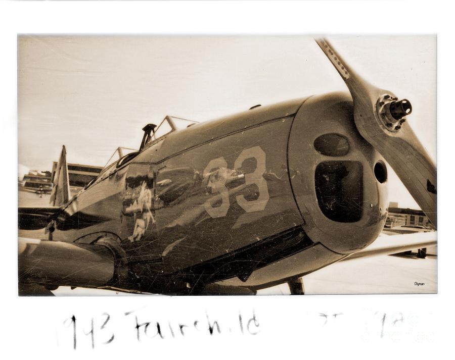 Aircraft Photograph - 1943 Fairchild  by Steven Digman