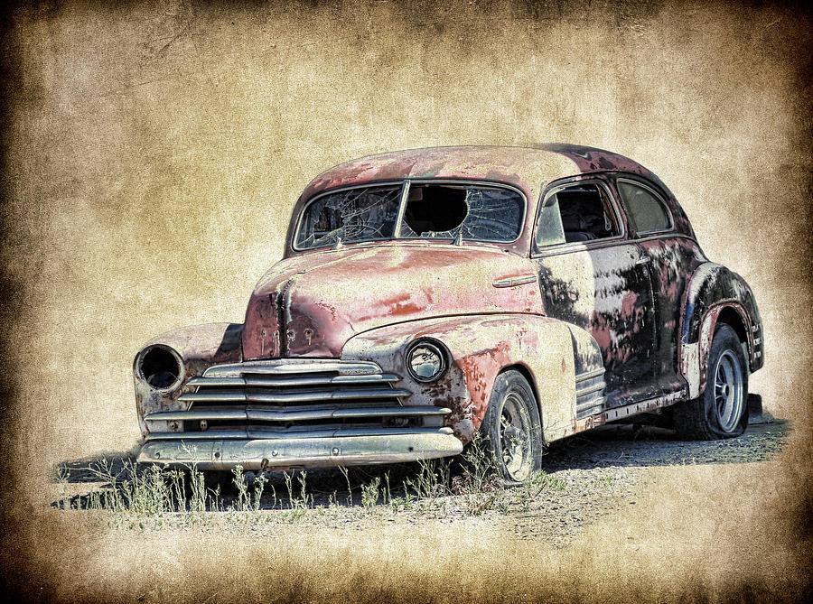 1947 Chevy Fleetmaster Coupe Project Photograph By Steve